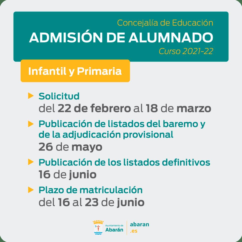 admision primaria