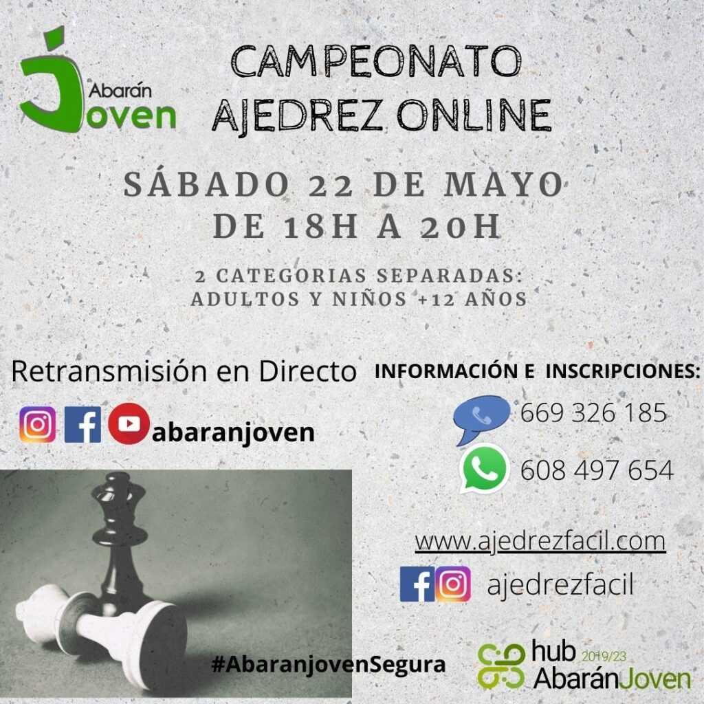 CAMPEONATO AJEDREZ ONLINE ABARAN1